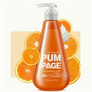 Pum Page гелевая зубная паста Апельсин